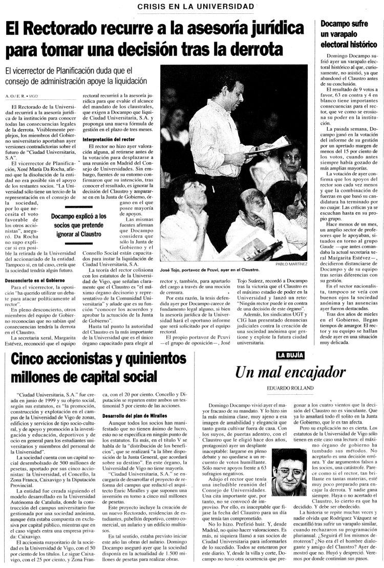Uv el tribunal supremo anula la sociedad que construy y for Piscina uvigo